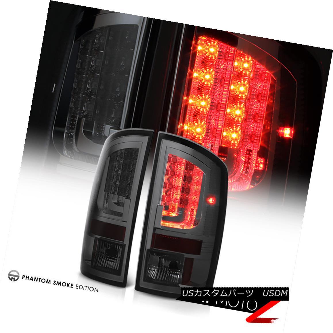 テールライト 2002-2006 Dodge Ram [CRYSTAL VLED PRISM] Smoke SMD LED Tail Lights Lamp PAIR SET 2002-2006ダッジラム[CRYSTAL VLED PRISM]スモークSMD LEDテールライトランプペアセット