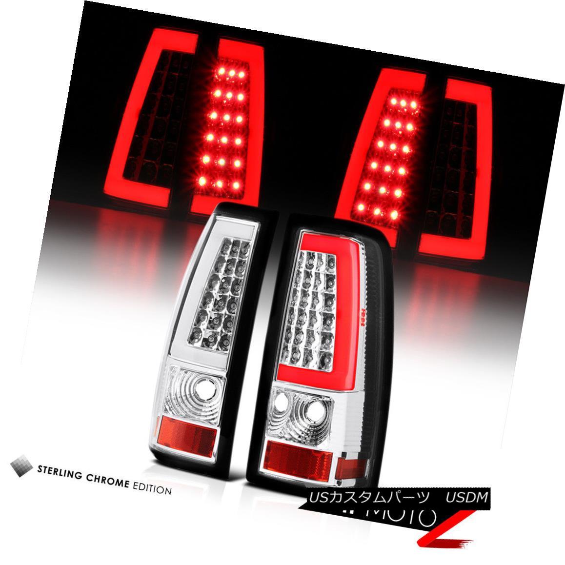 テールライト [NEW LED TUBE]1999 2000 2001 2002 Chevy Silverado Signal Tail Lights Left+Right [NEW LED TUBE] 1999年2000年2001年2002年シボレーシルバラードシグナルテールライトLeft + Right