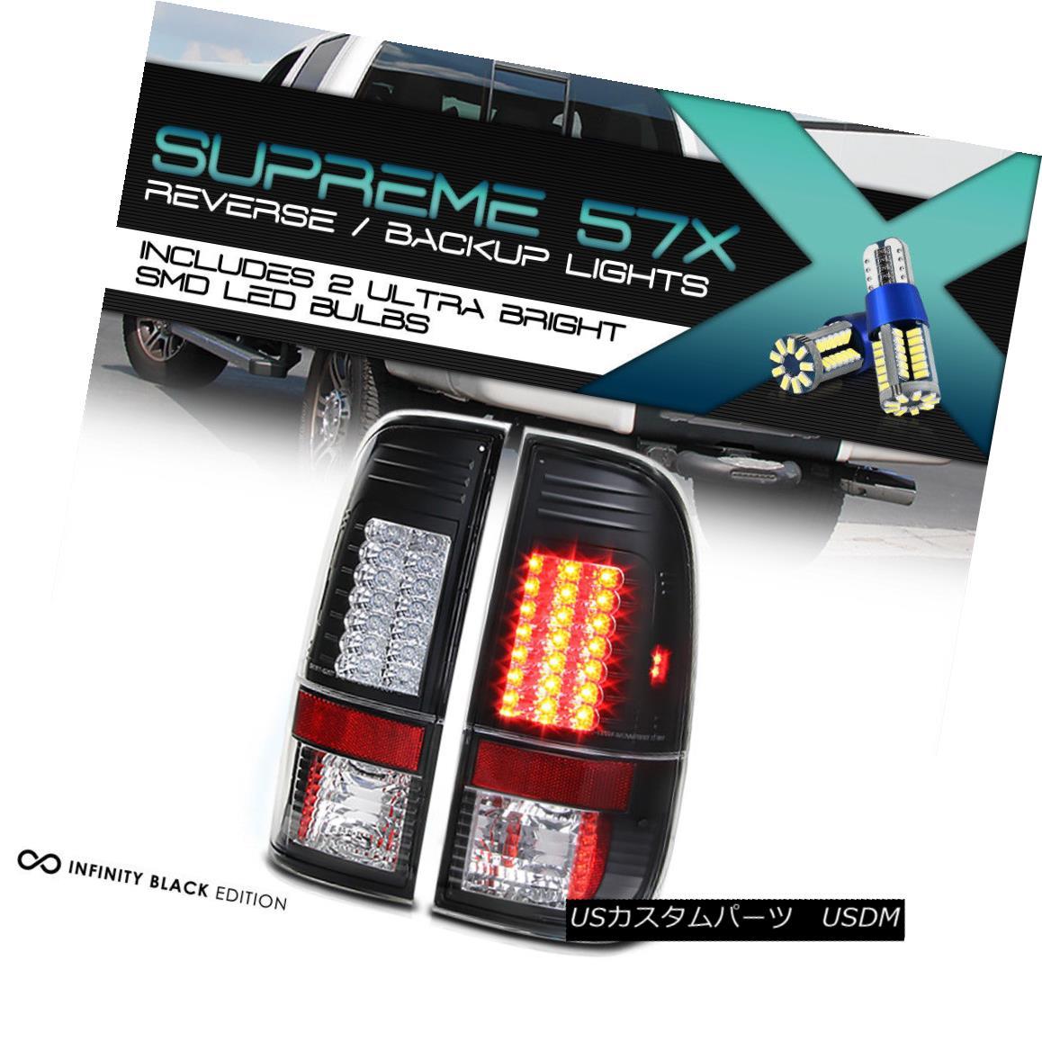 テールライト 360 DEGREE SMD BACKUP Tail Lights Tint Brake 08-16 Ford 250 350 450 SuperDuty 360度SMDバックアップテールライトティントブレーキ08-16 Ford 250 350 450 SuperDuty