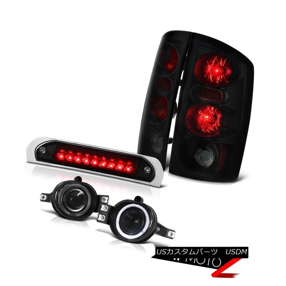 テールライト ~SINISTER BLACK~ Brake Lamps Projector Driving Fog 3rd Brake LED 02-05 Ram V6 ?SINISTER BLACK?ブレーキランププロジェクター駆動フォグ第3ブレーキLED 02-05 Ram V6