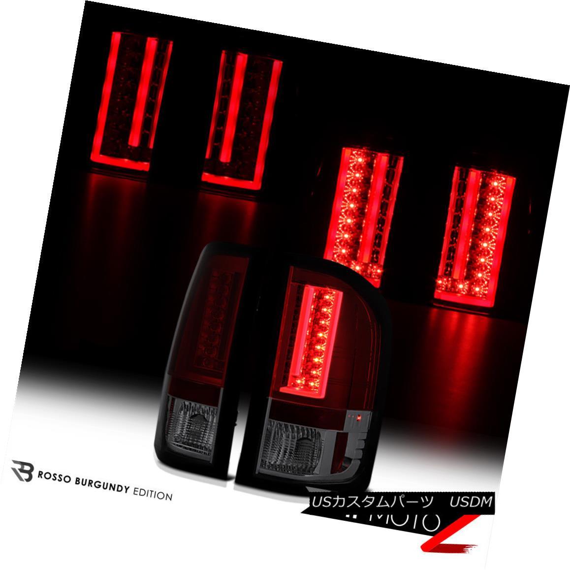 テールライト [DEEP RED] 2007-2013 Chevy Silverado SMD LED Tail Lights Brake Lamps Neon Tube [DEEP RED] 2007-2013 Chevy Silverado SMD LEDテールライトブレーキランプネオンチューブ