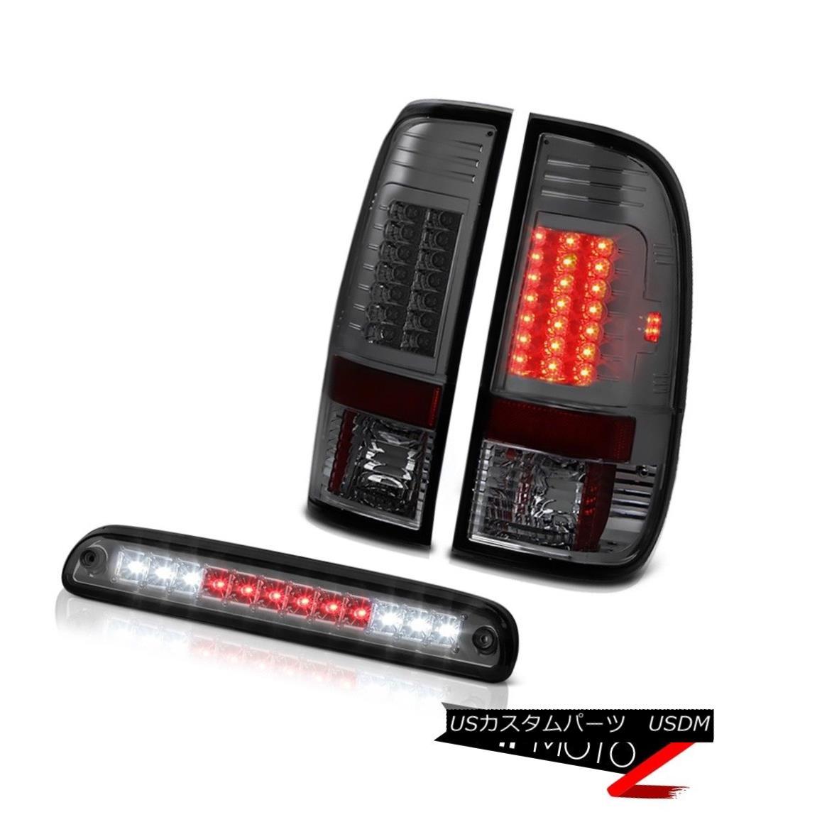 テールライト 99 00 01 02 03 04 F250 Harley Davidson Smoke Tail Light LED Roof Brake Cargo 99 00 01 02 03 04 F250ハーレーダビッドソン煙テールライトLEDルーフブレーキカーゴ