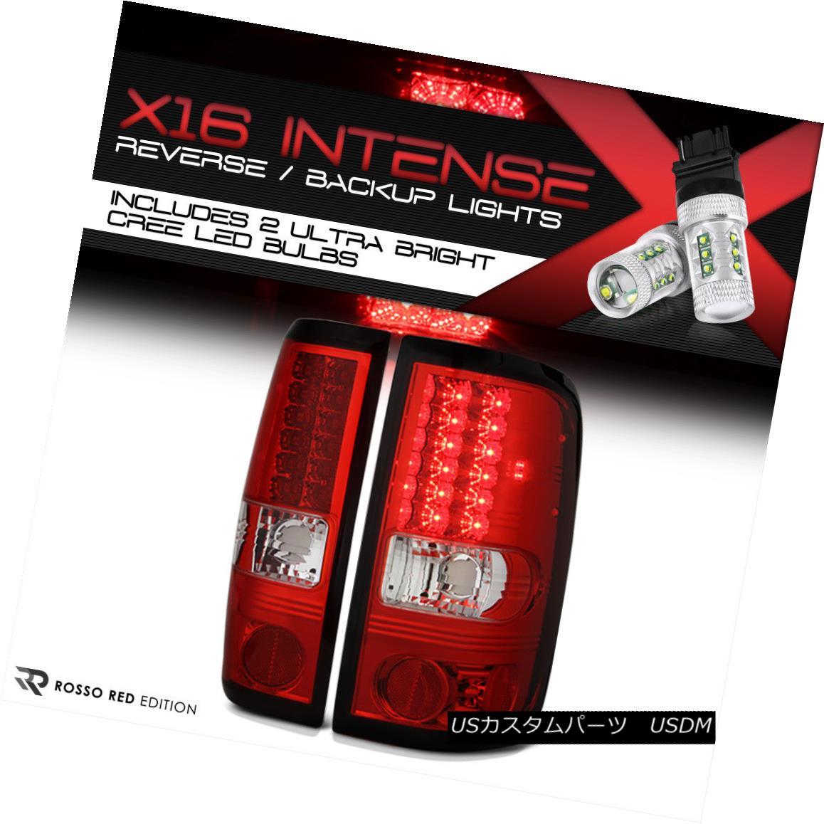 テールライト [High-Power SMD Backup] 04-08 Ford F150 Lobo Tail Lights Brake FX2 FX4 V8 V6 Cab [ハイパワーSMDバックアップ] 04-08フォードF150ロボテールライトブレーキFX2 FX4 V8 V6キャブ