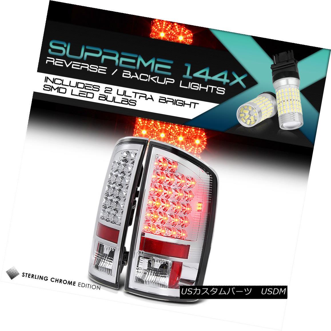 テールライト {360 Degree SMD Reverse} @CHROME OUT 02-05 Dodge Ram LED Tail Lights 03-06 Ram {360度SMDリバース} @CHROME OUT 02-05 Dodge Ram LEDテールライト03-06 Ram