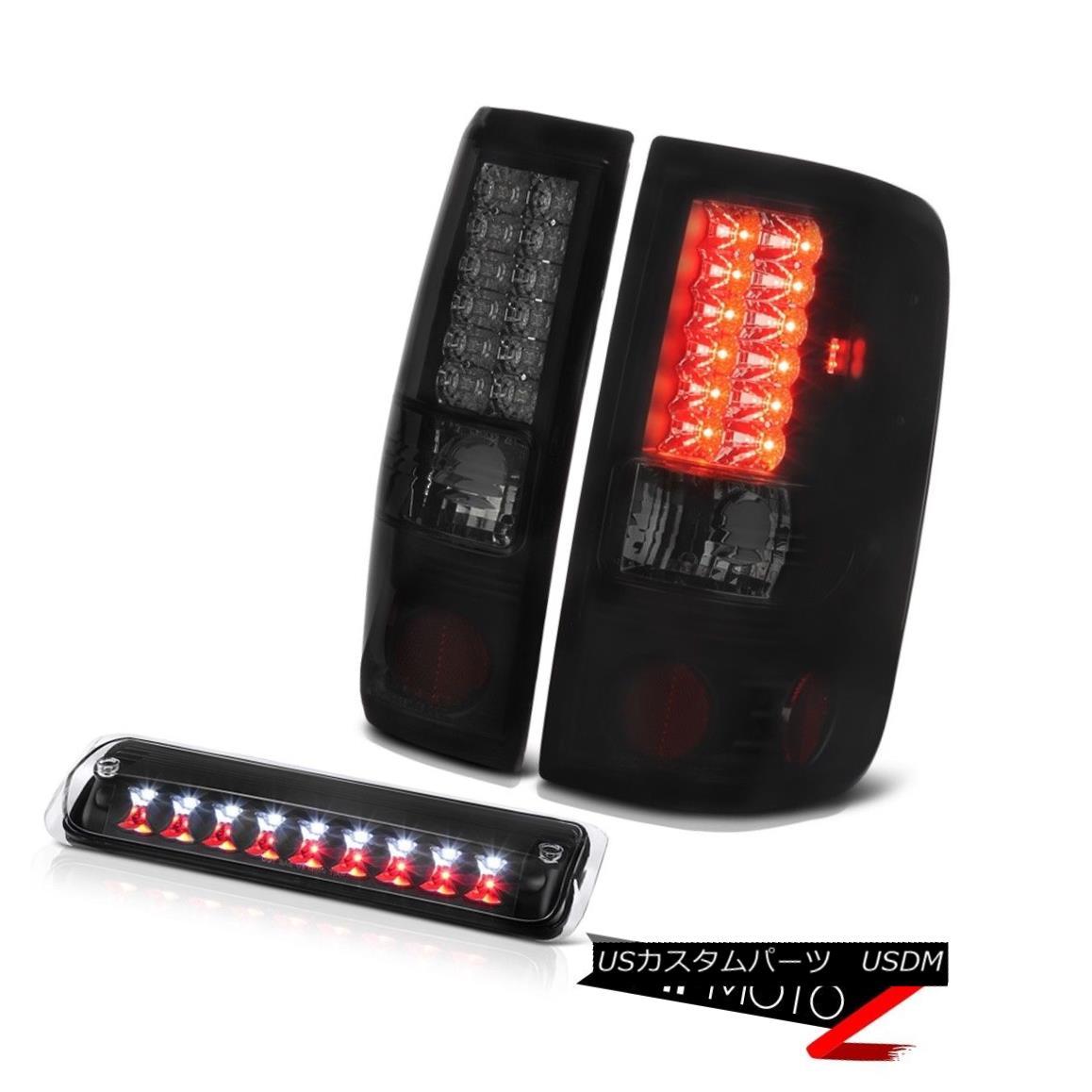 テールライト 04-08 Ford F150 XL Black Roof Brake Light Sinister Tail Lamps LED