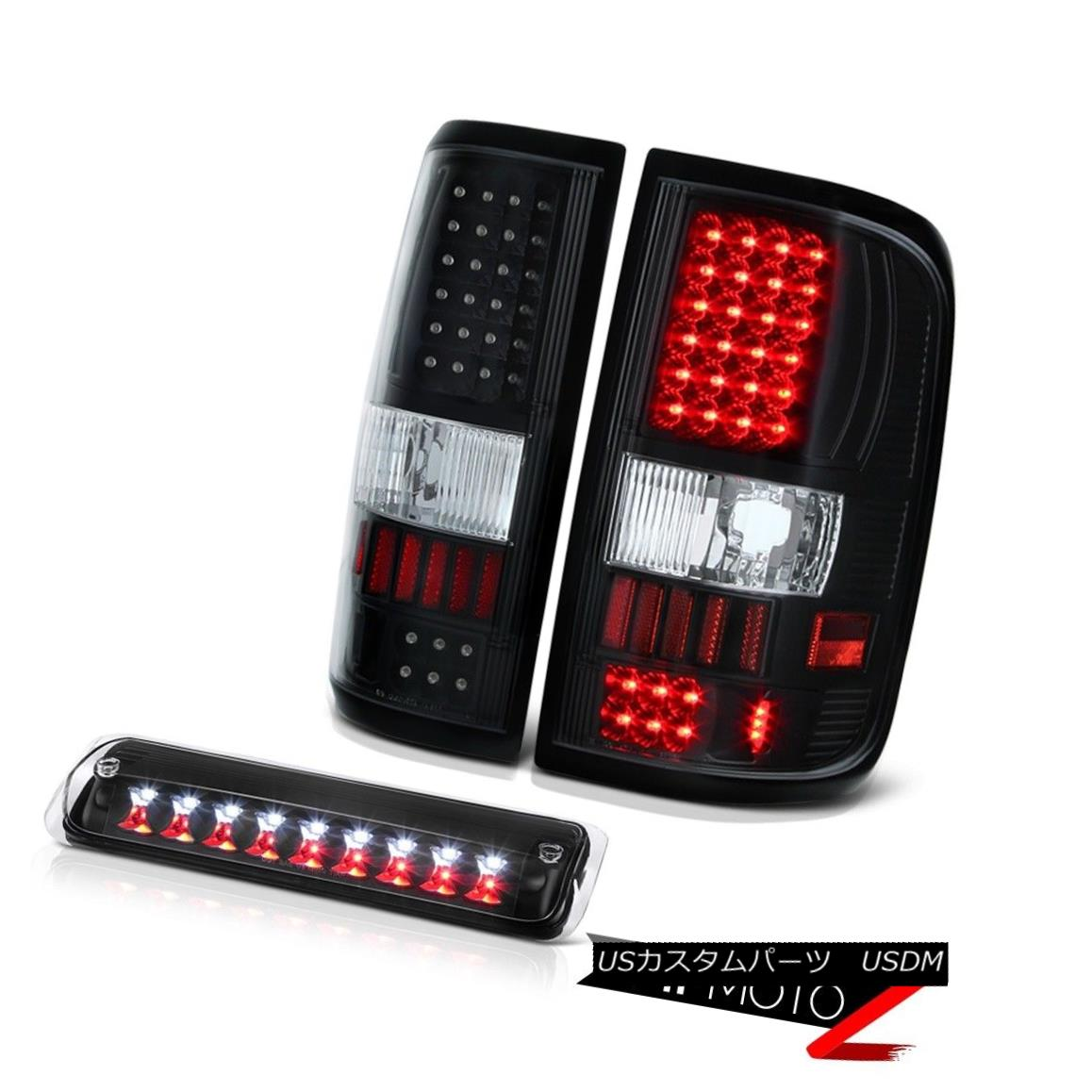 テールライト 2004-2008 Ford F150 XL Black Roof Cab Lamp Tail Lights LED SMD