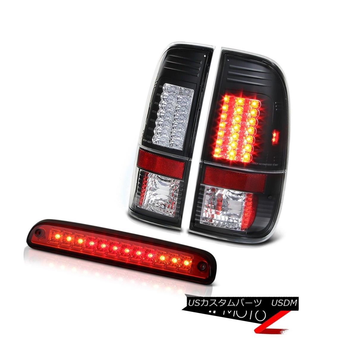 テールライト 1999-2004 F250 XLT ~BRIGHT~ LED Nighthawk Black Taillamp Third Brake Light Red 1999-2004 F250 XLT?BRIGHT?LED Nighthawk Black Taillamp Thirdブレーキライトレッド