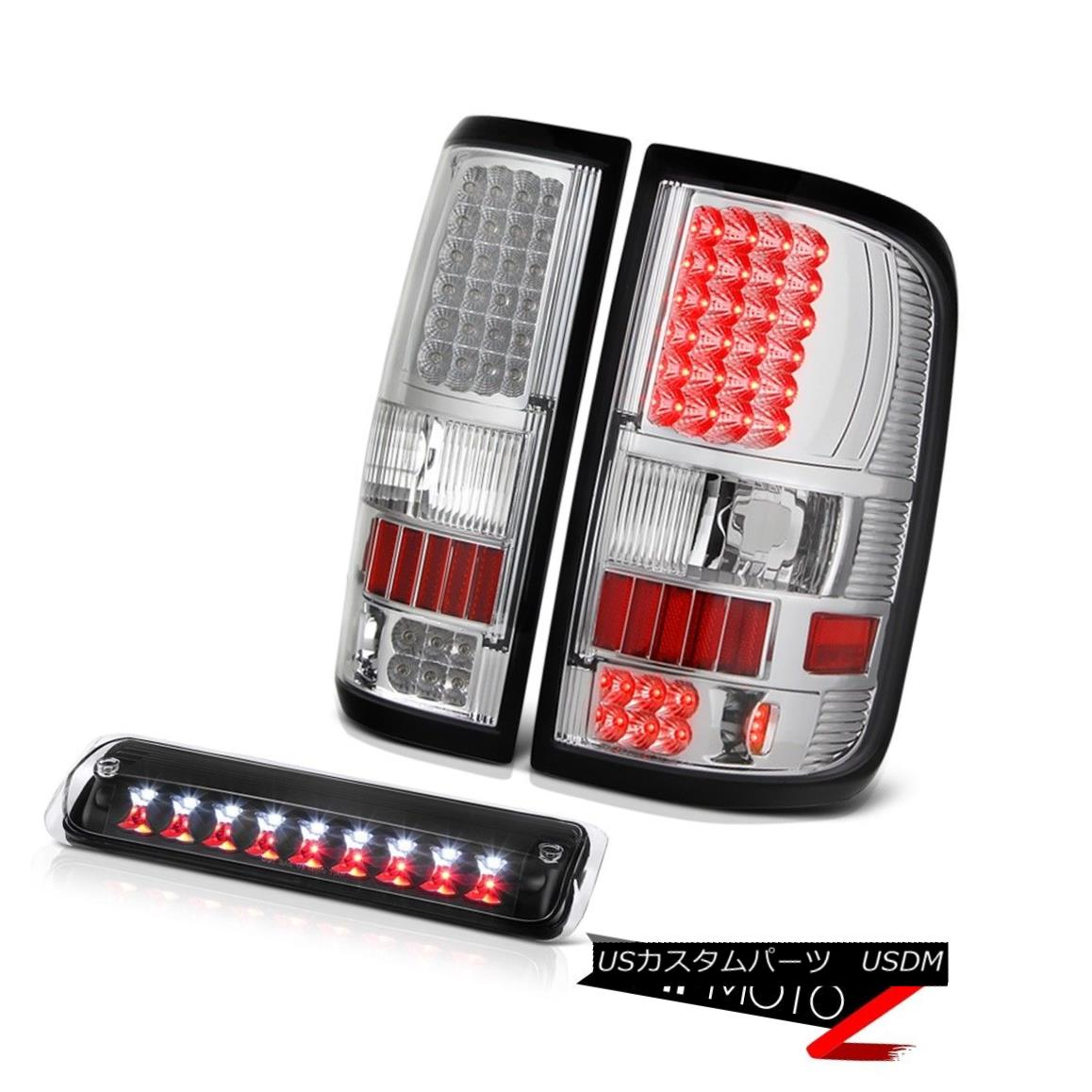 テールライト 04-08 Ford F150 FX4 Third Brake Lamp Euro Clear Parking Lights SMD