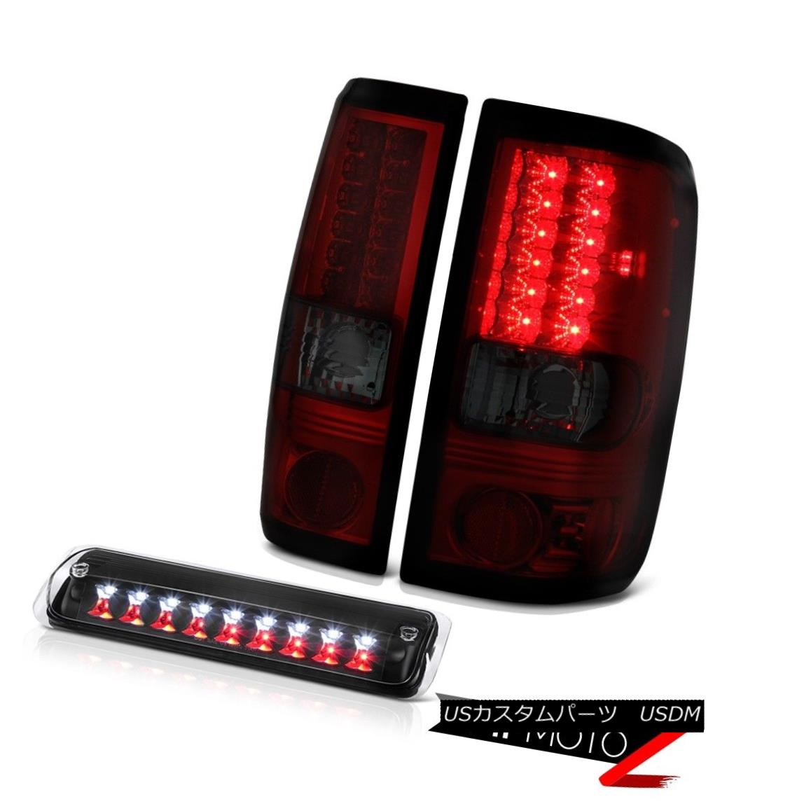 テールライト 2004-2008 Ford F150 STX Nighthawk Black Roof Cab Light Tail Lamps
