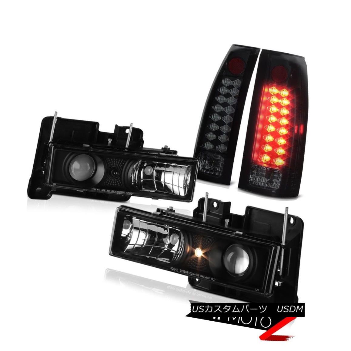 ファッションデザイナー テールライト LIMITED EDITION SINISTER BLACK SMOKE LED TAIL LIGHT PROJECTOR HEADLIGHT DRL LAMP LIMITED EDITION SINISTER BLACK SMOKE LEDテールライトプロジェクターヘッドライトDRLランプ, ネットdeまつやま cbdbb471