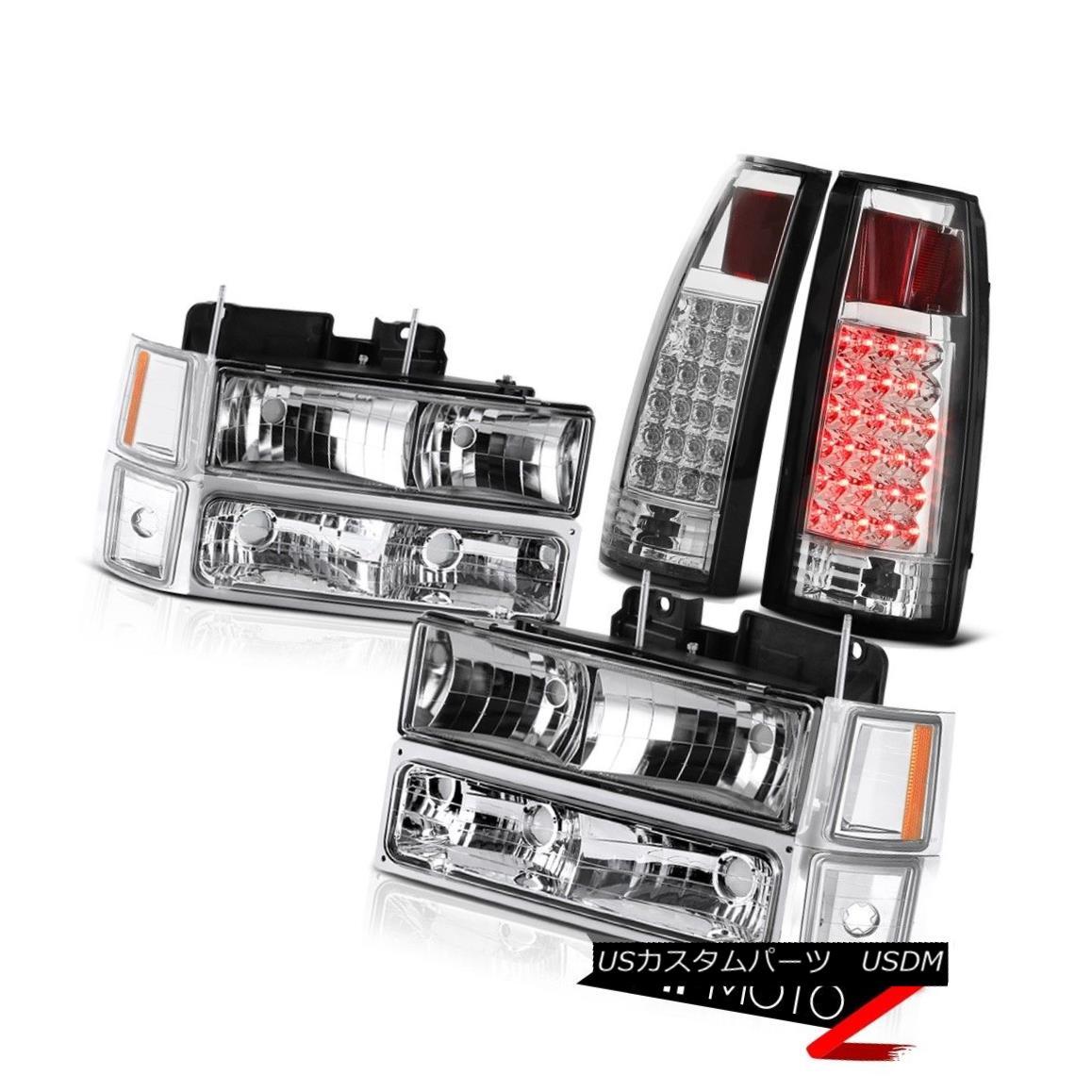 人気が高い  テールライト 94 95 96 97 98 99 Chevy Tahoe Chrome Headlight LED Rear Brake Tail Lamp Assembly 94 95 96 97 98 99 Chevy Tahoe ChromeヘッドライトLEDリアブレーキテールランプアセンブリ, 吉富町 60199957