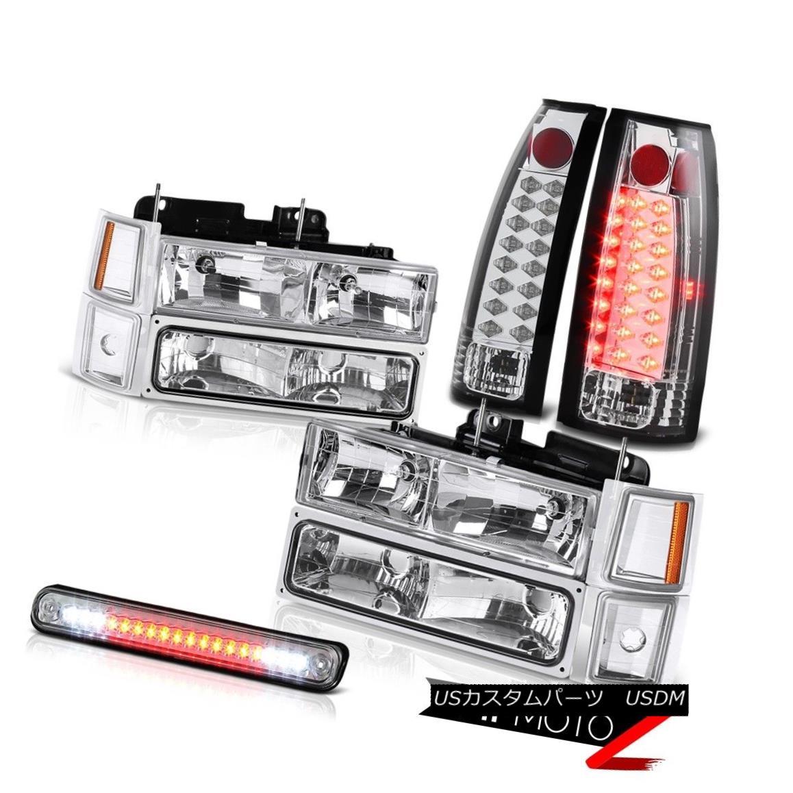 テールライト 1994 1995 1996 1997 1998 Chevy CK Silverado Headlight LED Third Cargo Tail Light 1994年1995年1996年1997年1998年シボレーCKシルバラードヘッドライトLED第3貨物テールライト