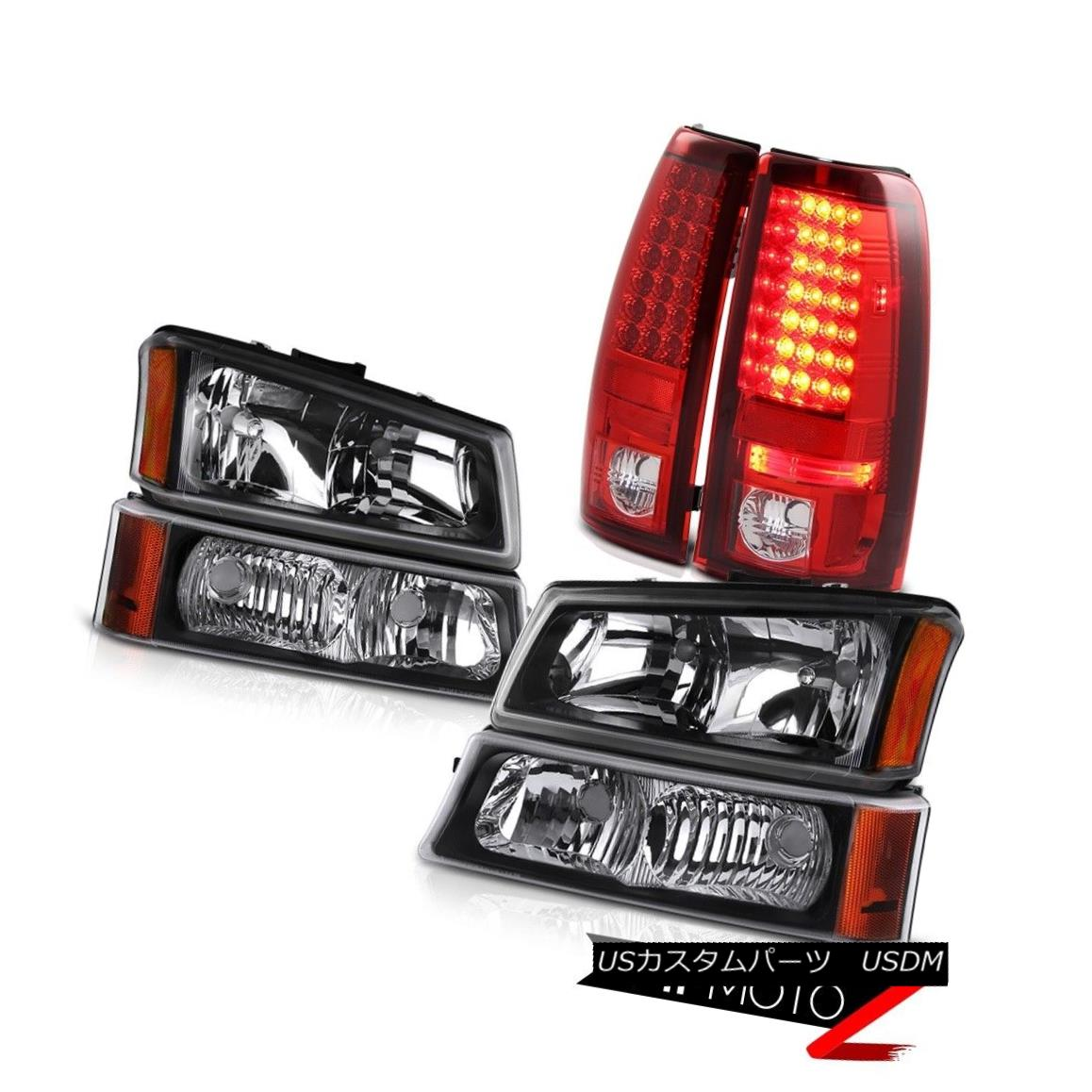 テールライト Headlights Signal Bumper LED Bulb Brake Tail Lights 03 04 05 06 Silverado 1500 ヘッドライト信号バンパーLED電球ブレーキテールライト03 04 05 06シルバラード1500
