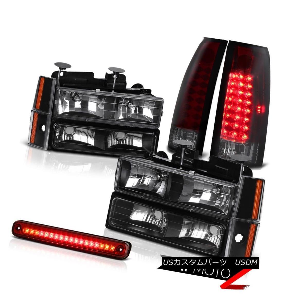 テールライト [CHERRY RED] Rear Brake Cab Cargo Tail Lights Corner Parking Headlight Chevy C/K [CHERRY RED]リアブレーキキャブ貨物テールライトコーナーパーキングヘッドライトChevy C / K