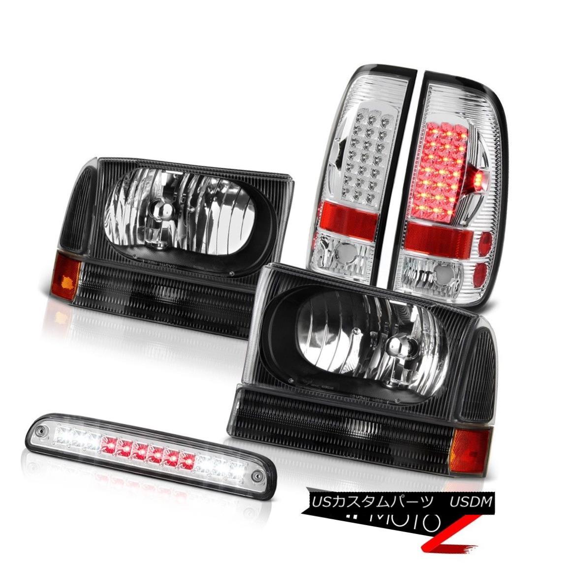 テールライト Headlamps Roof Brake Cargo LED Bright Tail Light 99 00 01 02 03 04 Ford F250 SD ヘッドランプルーフブレーキカーゴLEDブライトテールライト99 00 01 02 03 04 Ford F250 SD
