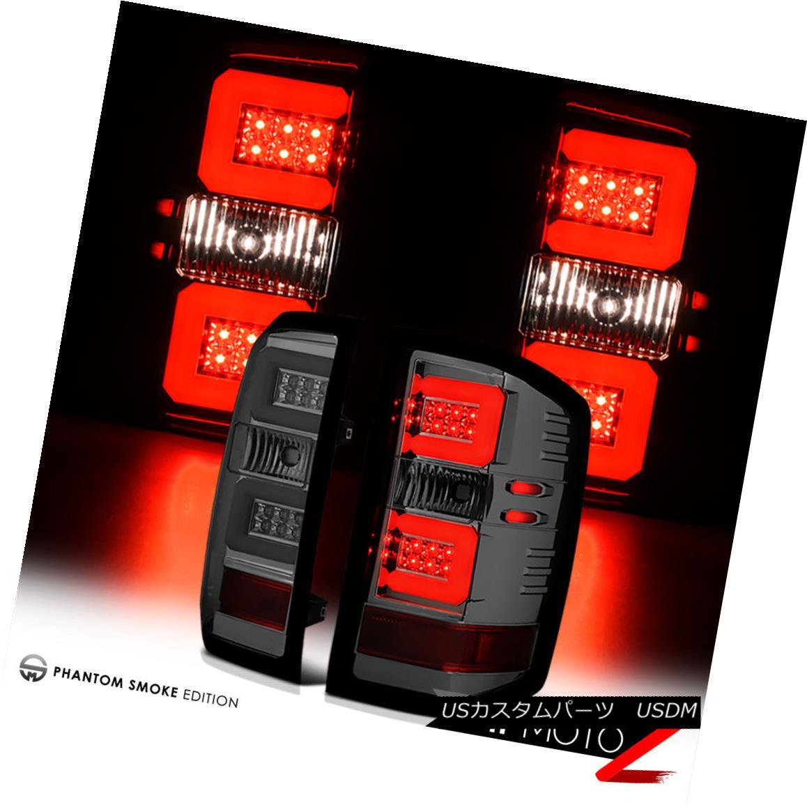 テールライト [SMOKE] LED Brake Lamps Tail Lights 2014-2018 Chevy Silverado 1500 2500HD 3500HD [SMOKE] LEDブレーキランプテールライト2014-2018 Chevy Silverado 1500 2500HD 3500HD