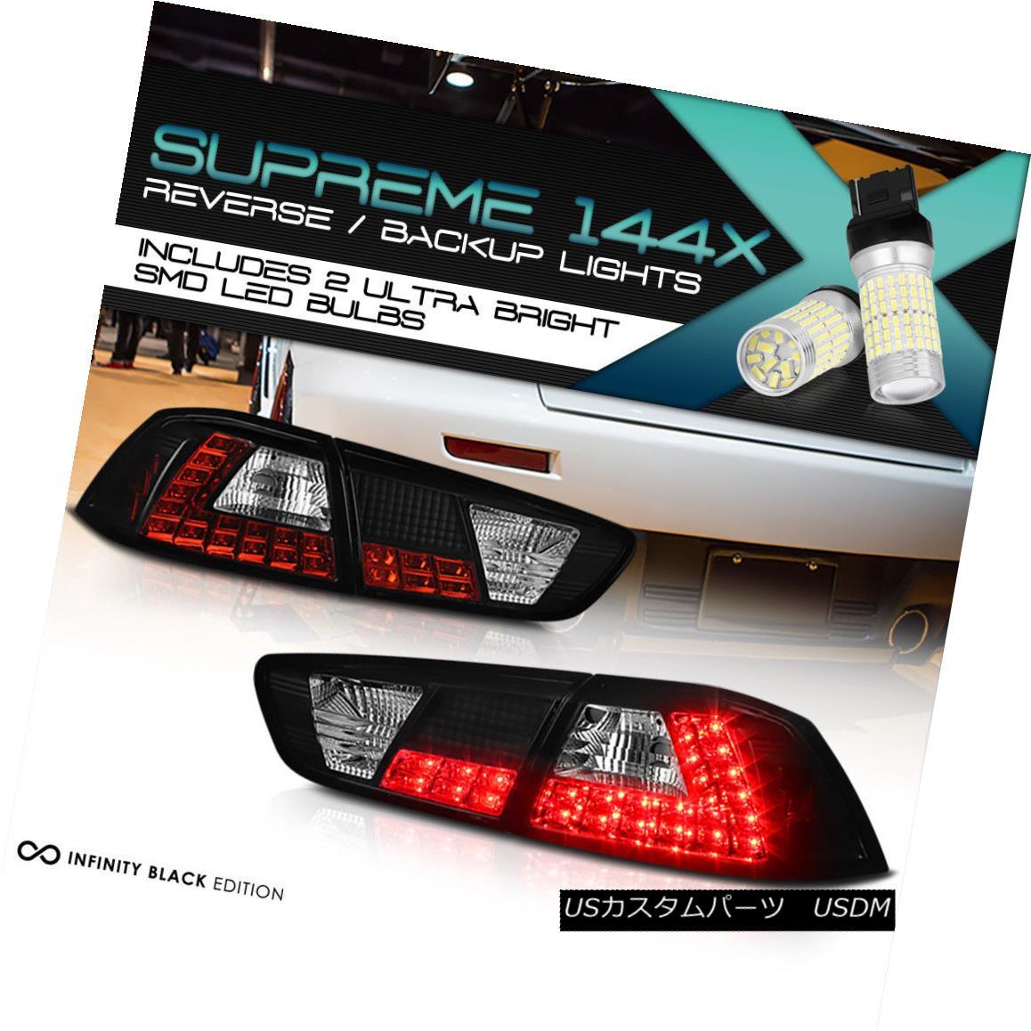 テールライト [Full SMD Reverse] 2008-2017 Mitsubishi Lancer Evolution Evo X 4B11 LED Taillamp [フルSMDリバース] 2008-2017三菱ランサーエボリューションX 4B11 LEDタイルランプ