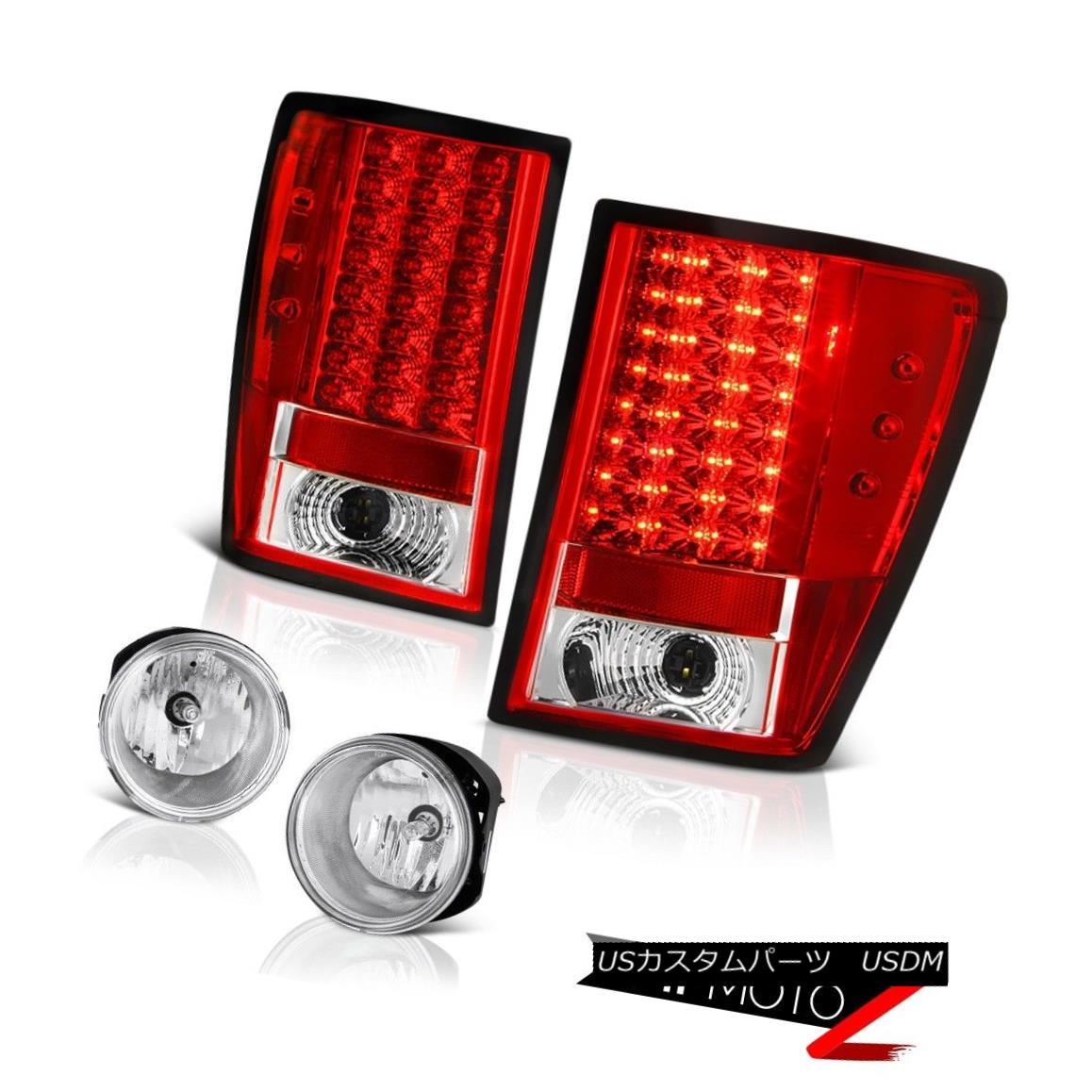 テールライト 05-06 Jeep Grand Cherokee Overland Chrome Foglamps Taillights LED