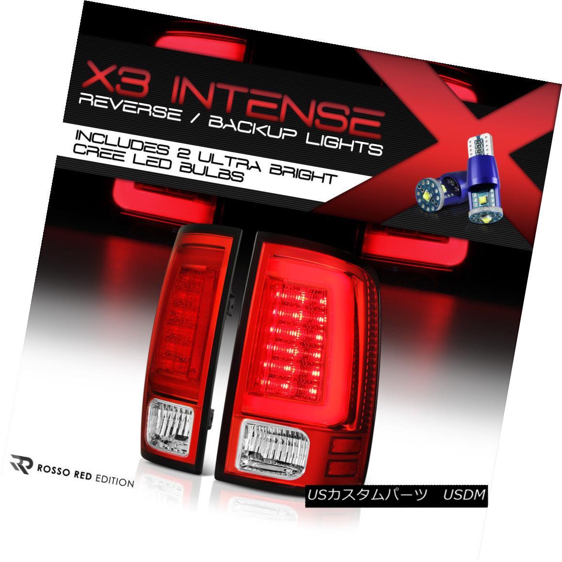 テールライト !HIGH-POWER SMD REVERSE! 09-18 Dodge RAM {TRON STYLE} Neon Tube LED Tail Lights !ハイパワーSMDリバース! 09-18ダッジRAM {トロンスタイル}ネオンチューブLEDテールライト