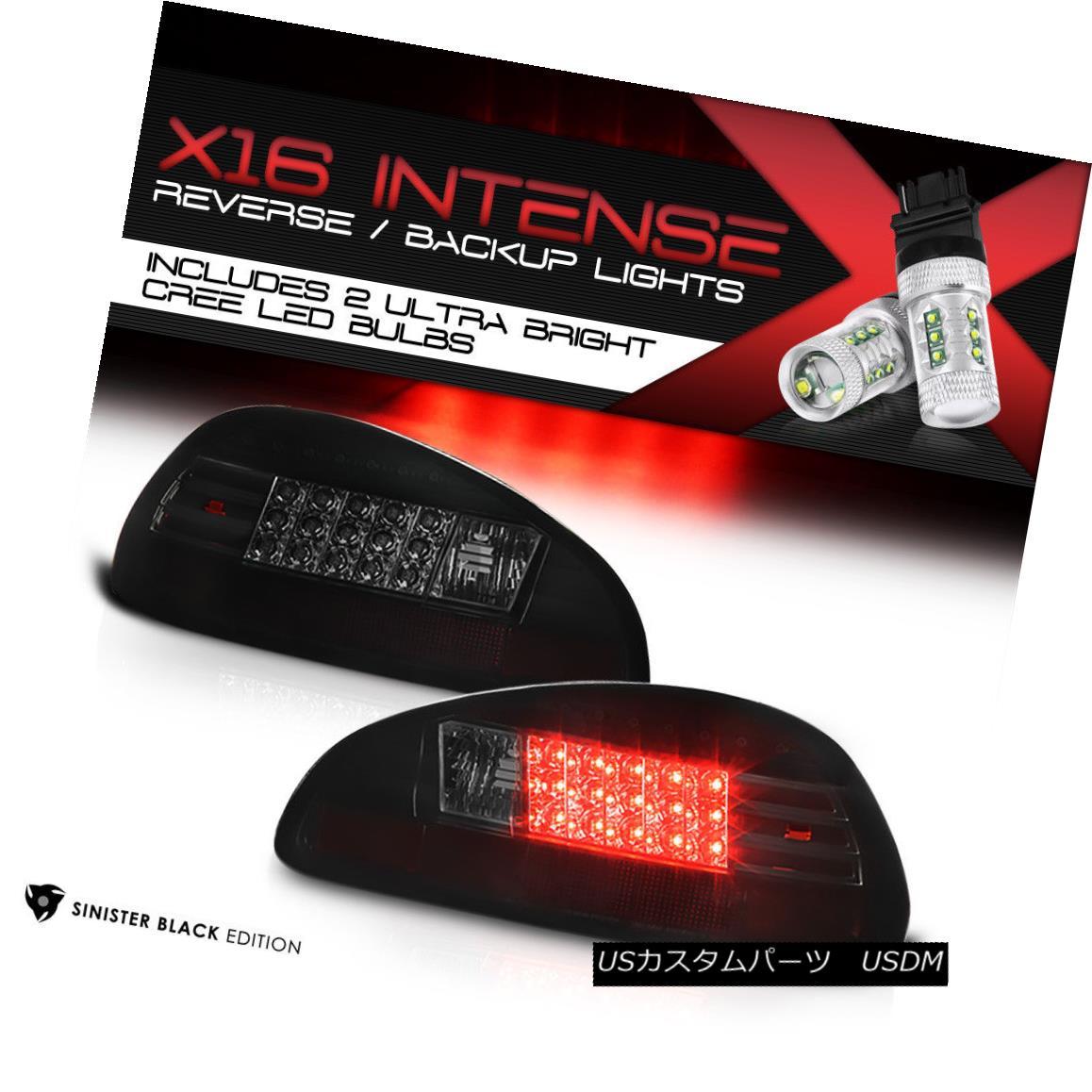 テールライト [High-Power CREE Backup] 17-03 Pontiac Grand Prix GT SE (BLACK) LED Tail Lights [ハイパワークリーバックアップ] 17-03ポンティアックグランプリGT SE(BLACK)LEDテールライト