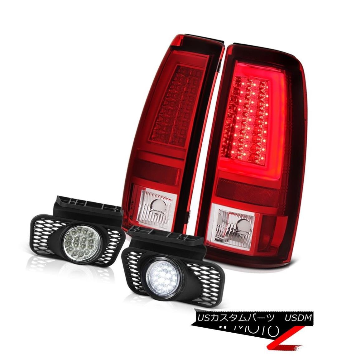 テールライト 03 04 05 06 Chevy Silverado 2500Hd Tail Lights Chrome Foglights Light Bar DRL 03 04 05 06 Chevy Silverado 2500HdテールライトChrome FoglightsライトバーDRL