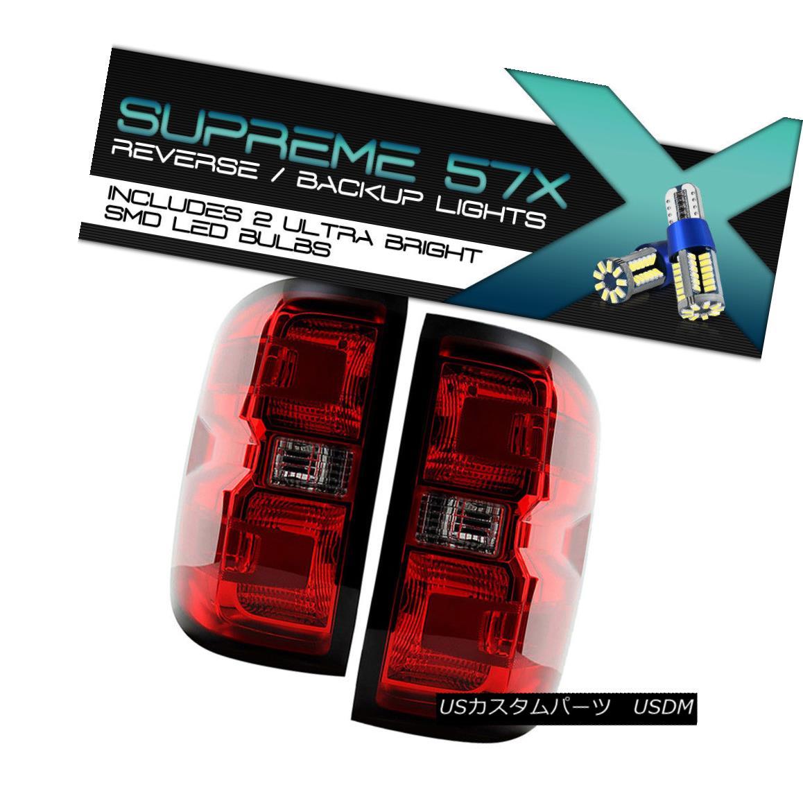 テールライト {360 DEGREE SMD BACKUP} 2014-2018 Silverado 1500 2500 Taillights Wiring Harness {360°SMD BACKUP} 2014-2018 Silverado 1500 2500ティアライトハーネス