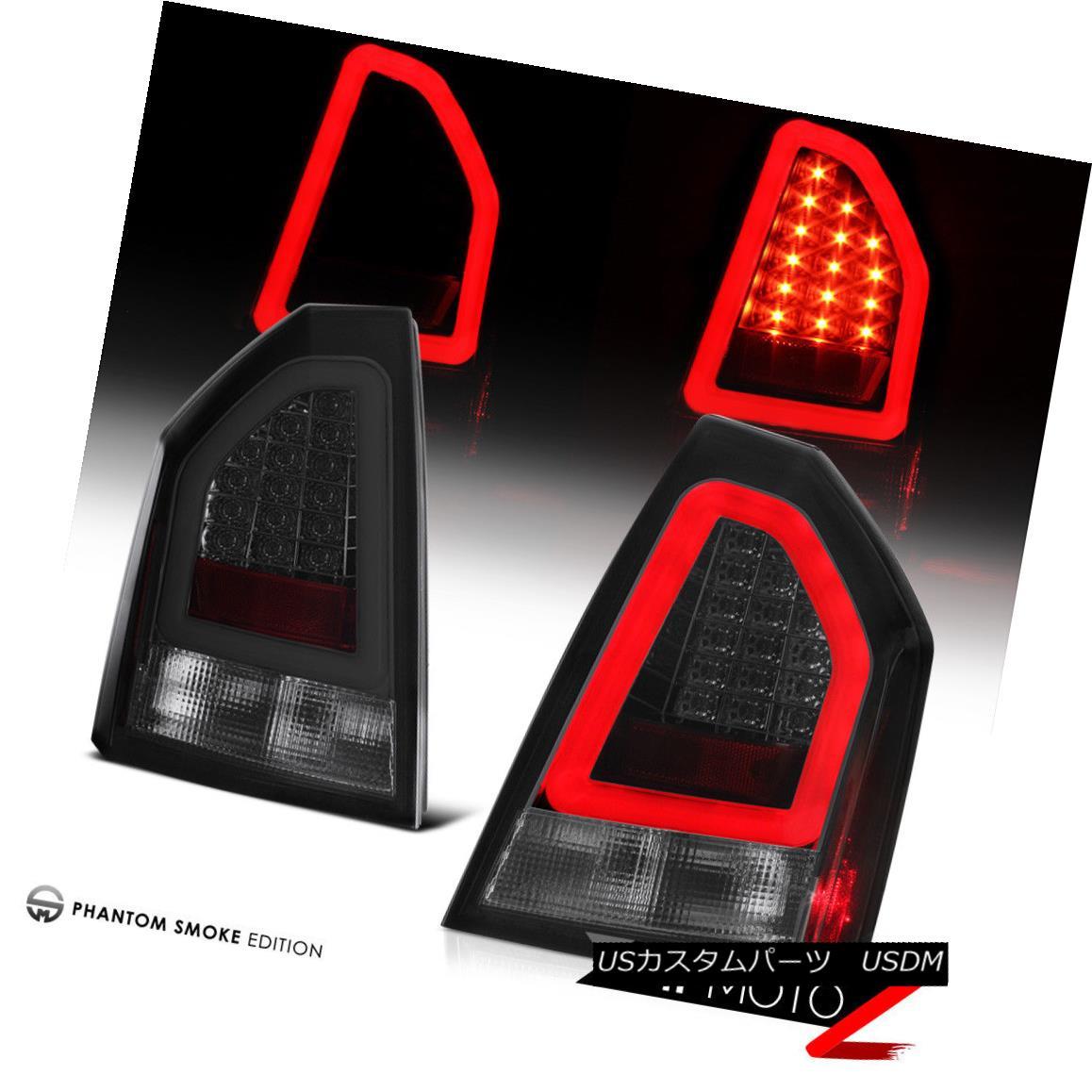 テールライト 2005-2007 Chrysler 300 [SMOKED LENS] Neon Tube LED Tail Lights Brake Lamps Pair 2005-2007クライスラー300 [SMOKED LENS]ネオンチューブLEDテールライトブレーキランプペア