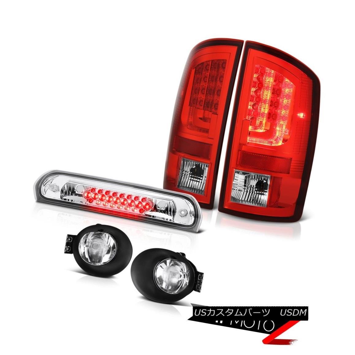 テールライト 2002-2006 Dodge Ram 1500 5.7L Tail Lights Foglamps Third Brake Lamp Tron STyle 2002-2006 Dodge Ram 1500 5.7LテールライトFoglamps第3ブレーキランプTron Style