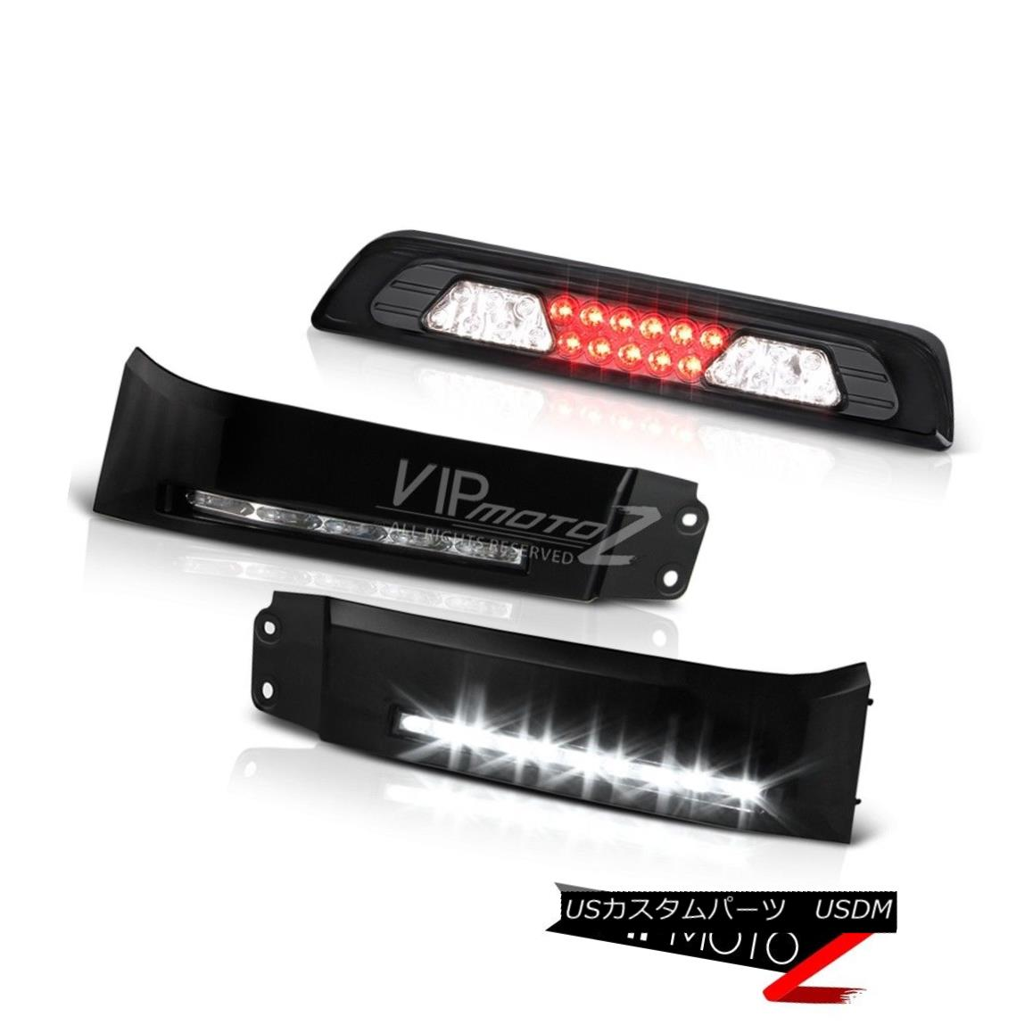 テールライト 2007-2013 Toyota Tundra Platinum Third Brake Light Nighthawk Black Bumper DRL 2007-2013 Toyota Tundra Platinum第3ブレーキライトナイトホークブラックバンパーDRL