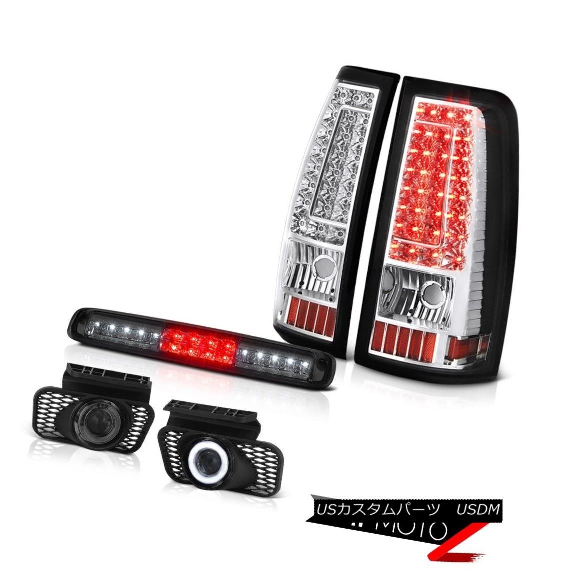 テールライト 2003-2006 Silverado 2500Hd Roof Brake Light Foglights Rear Lamps