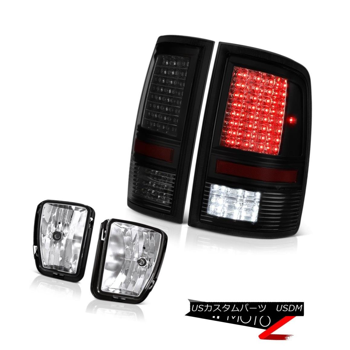 テールライト 13-18 Ram 1500 Outdoorman Taillights Fog Lights LED SMD CrySTal Lens