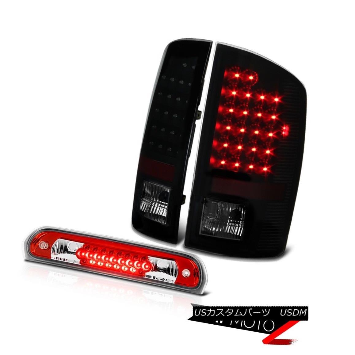 テールライト Philip SuperFlux LED Tail Lights High Brake Cargo Lamps 02 03 04 05 Ram 3500 Philip SuperFlux LEDテールライトハイブレーキ貨物ランプ02 03 04 05 Ram 3500