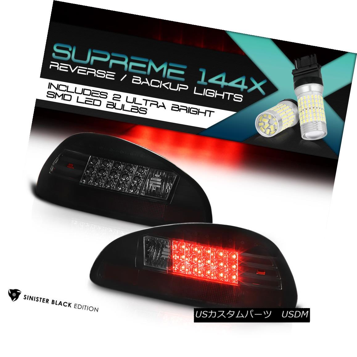 テールライト [FULL SMD BACKUP] 1997-2003 Pontiac Grand Prix GT SE Coupe Sedan LED Tail Lights [FULL SMD BACKUP] 1997-2003ポンティアックグランプリGT SEクーペセダンLEDテールライト