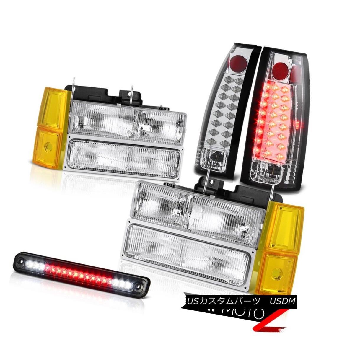 テールライト 1994-1998 GMC K3500 Headlamps Bumper Smokey Roof Cab Lamp Tail Lamps Assembly 1994-1998 GMC K3500ヘッドランプバンパースモーキールーフキャブランプテールランプアセンブリ