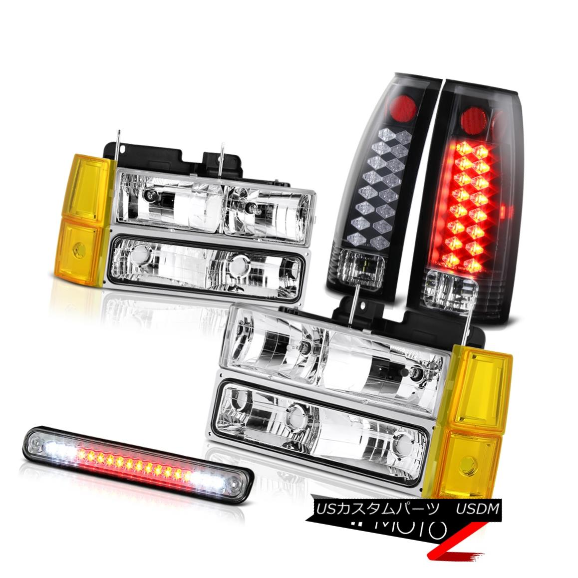 テールライト 1994-1998 Sierra 1500 Headlights Corner High Stop Lamp Tail Lamps