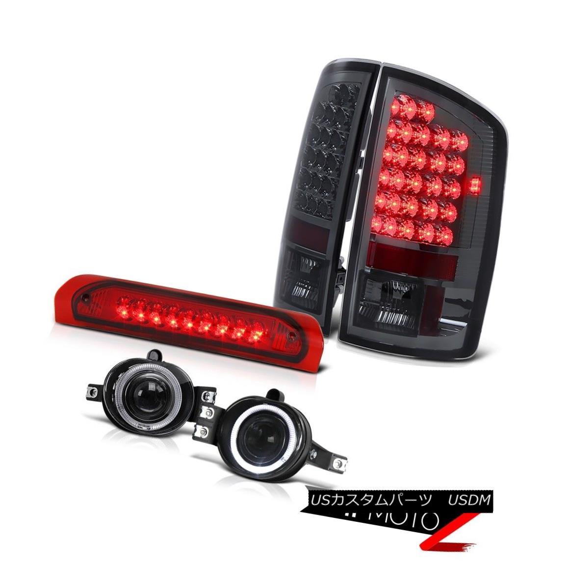 "2003-2006 Chevy Silverado Darkest Smoke Rear Brake Lamps Headlamps /""Brightest/"""