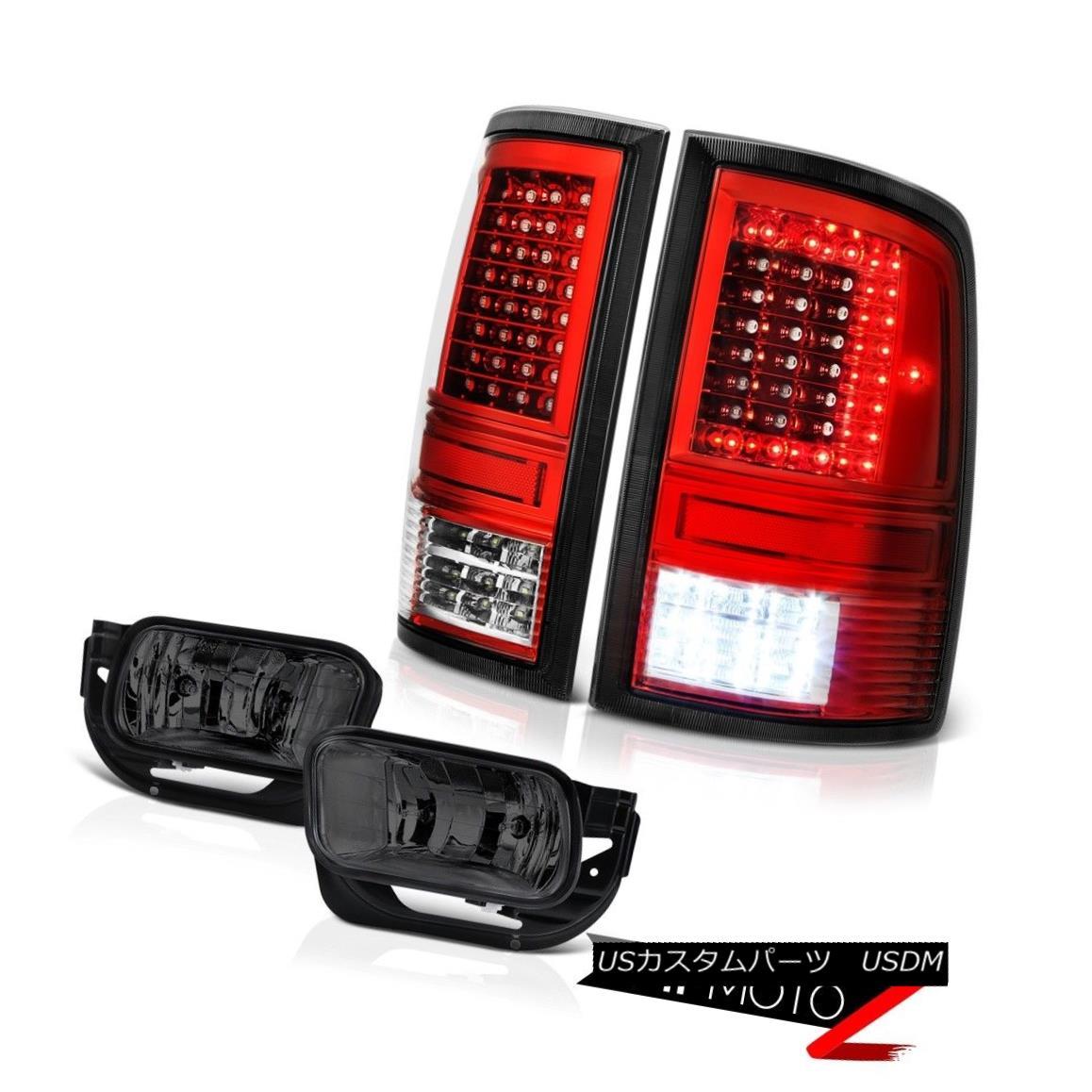 テールライト 10 11 12 13-18 Dodge RAM 2500 3500 Red Tail Lights Graphite Smoke Driving Lamps 10 11 12 13-18ダッジRAM 2500 3500レッドテールライトグラファイトスモークドライビングランプ