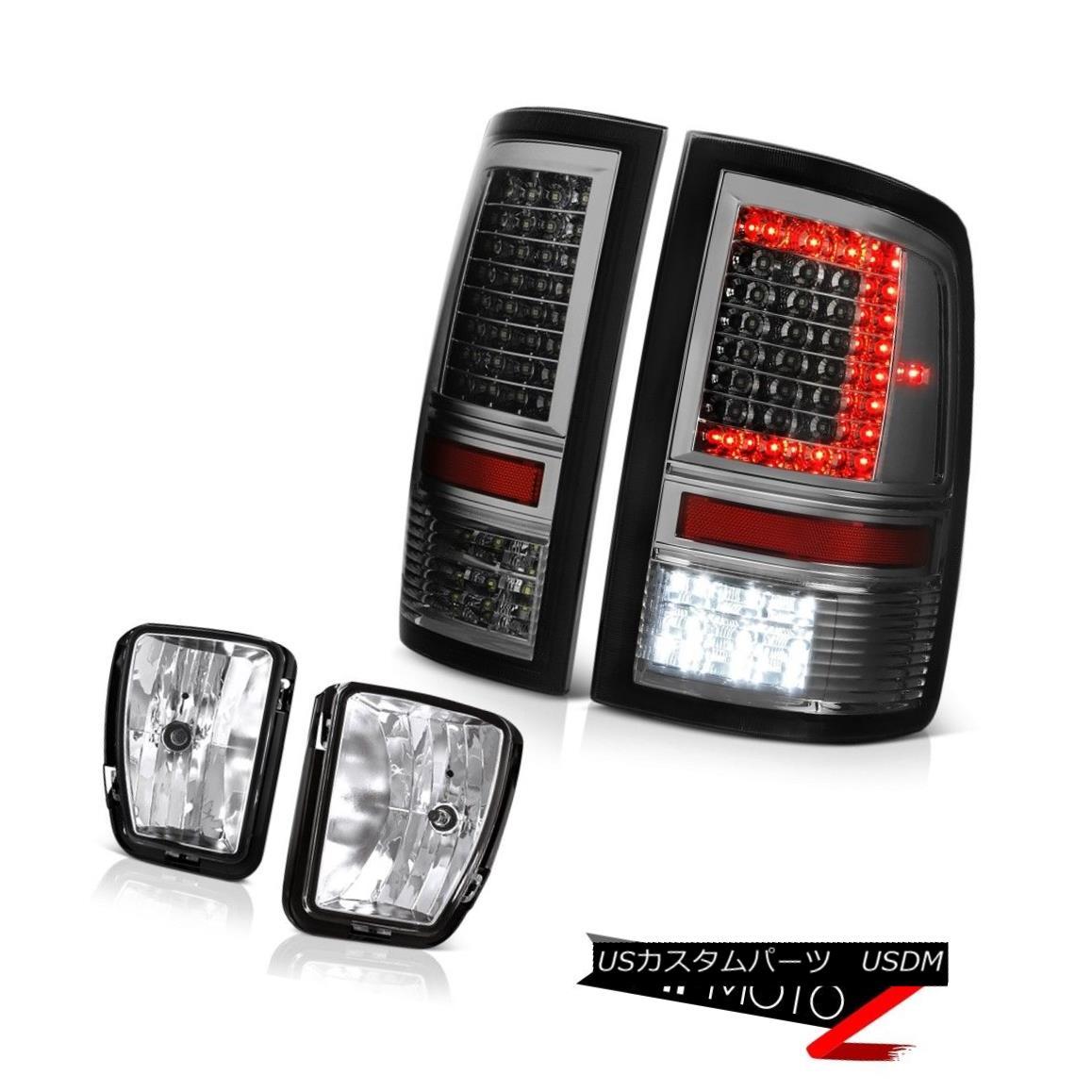 テールライト 13-18 RAM 1500 Crystal Clear Driving Lamp Tail Lamps Replacement Assembly SET 13-18 RAM 1500クリスタルクリアドライブランプテールランプ交換アセンブリSET