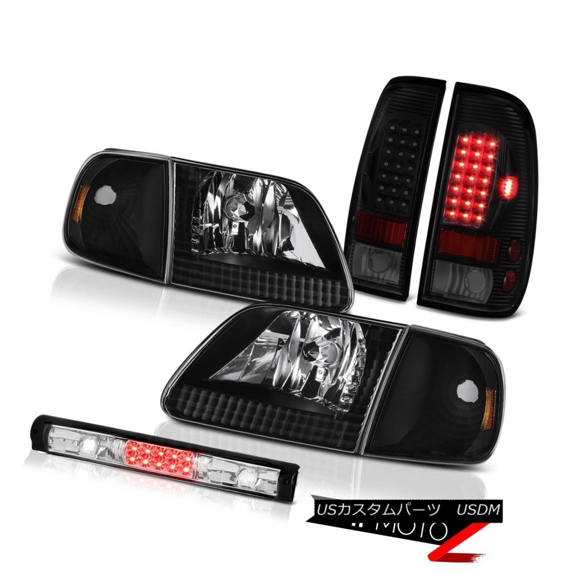 テールライト 97-03 Ford F150 Headlamps High Stop Lamp Rear Brake Lamps LED SMD
