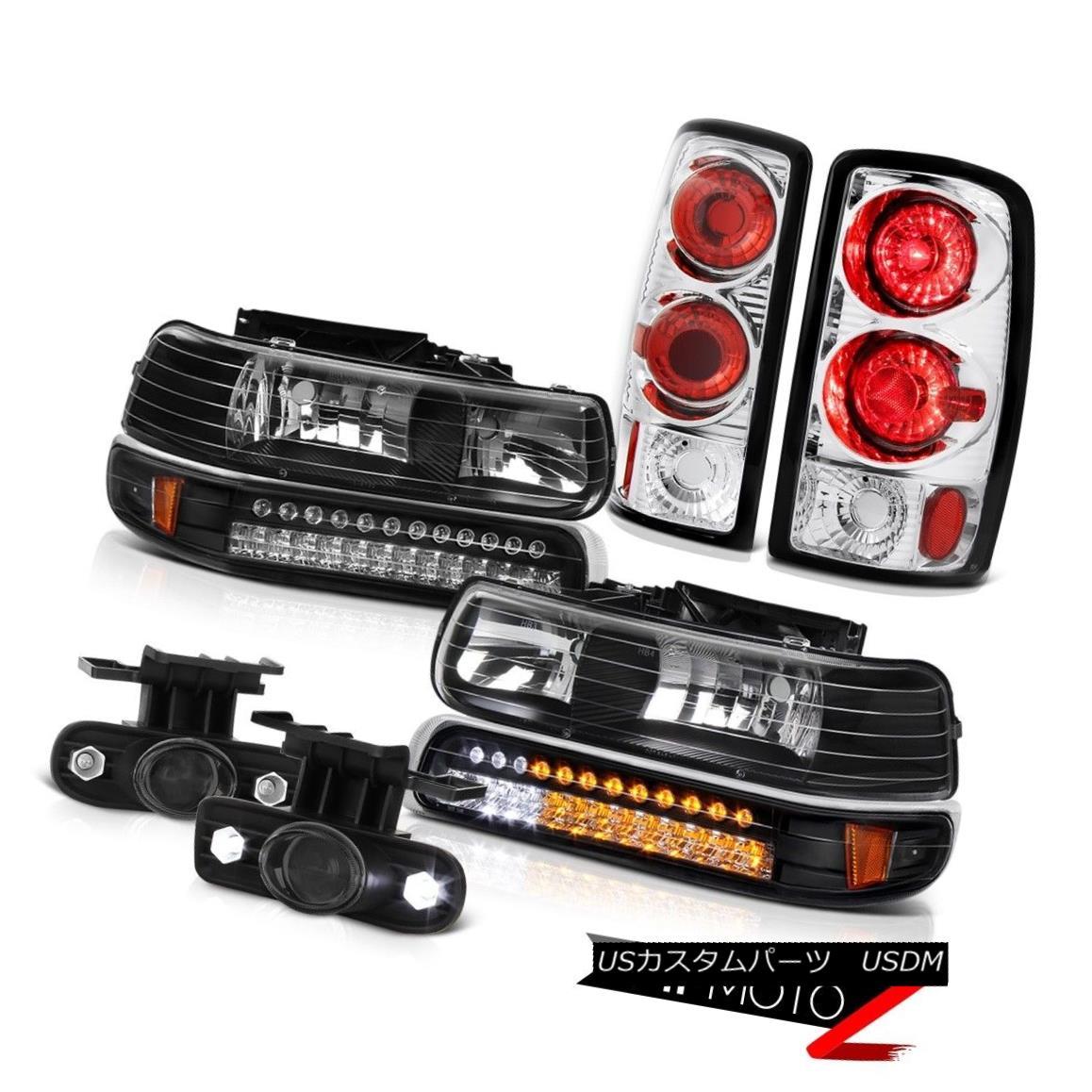 テールライト 00 01 02 03 04 05 06 Suburban 2500 DRL Bumper+Headlamp Tail Light Fog Lamps 00 01 02 03 04 05 06郊外2500 DRLバンパー+ヘッドラム pテールライトフォグランプ