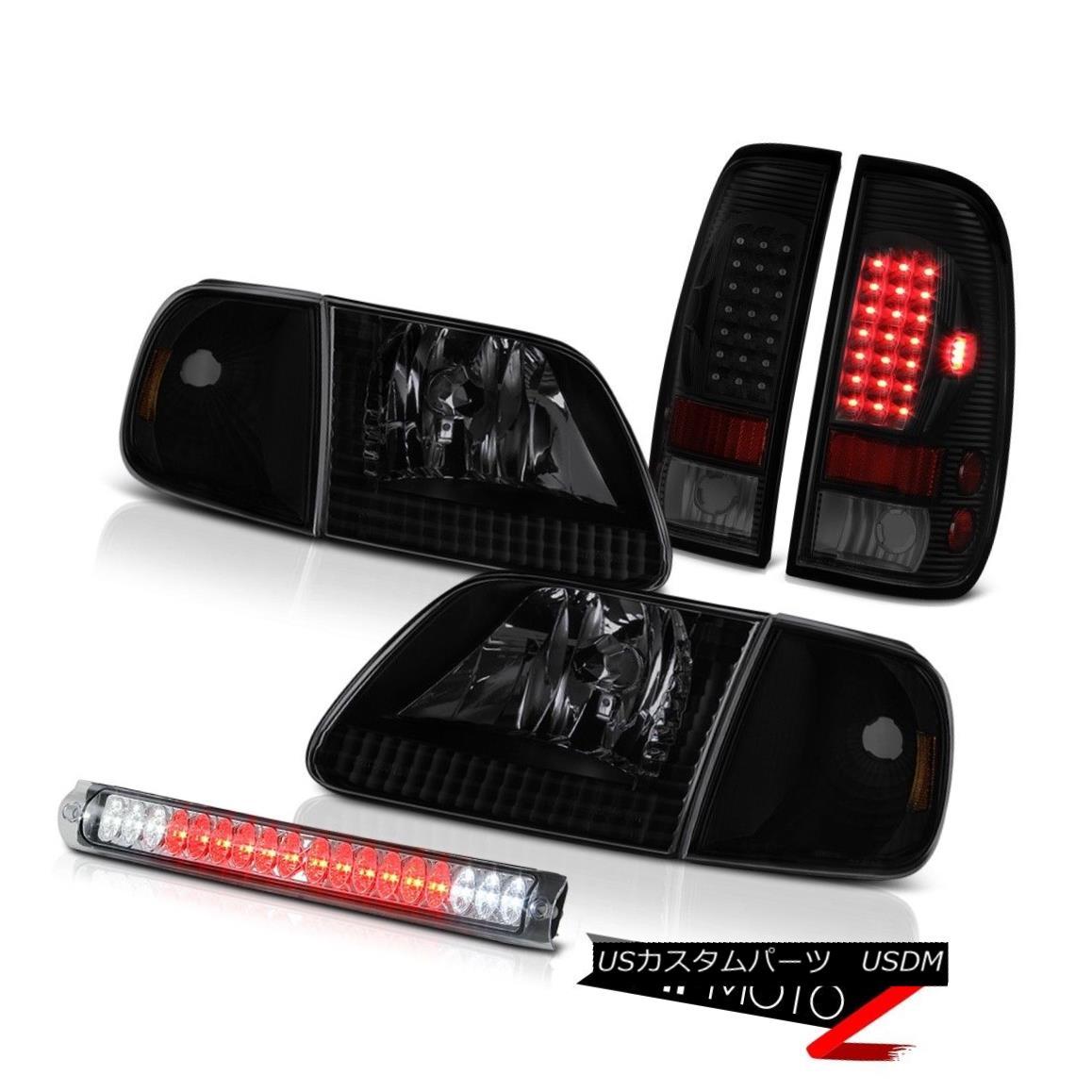 テールライト 1997-2003 F150 Xl Headlamps Clear Chrome Roof Cargo Light Parking Brake Lights 1997-2003 F150 Xlヘッドランプクリアクローム屋根カーゴライトパーキングブレーキライト