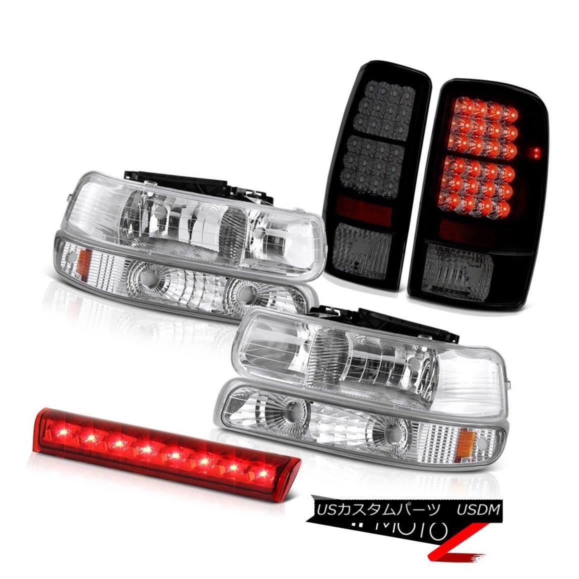 テールライト 00 01 02 03 04 05 06 Tahoe LT Euro Headlamps LED Tail Lights Lamps High Stop Red 00 01 02 03 04 05 06 Tahoe LTユーロヘッドランプLEDテールライトランプハイストップレッド