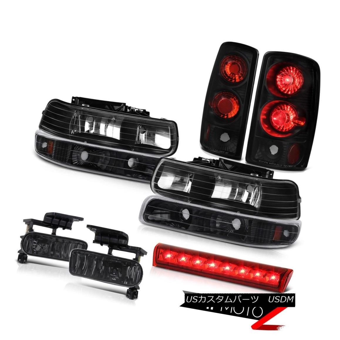 テールライト 00-06 Chevy Suburban LS Red clear high stop lamp fog lamps tail Headlamps LED 00-06シボレー郊外LSレッドクリアハイストップランプフォグランプテールヘッドランプLED