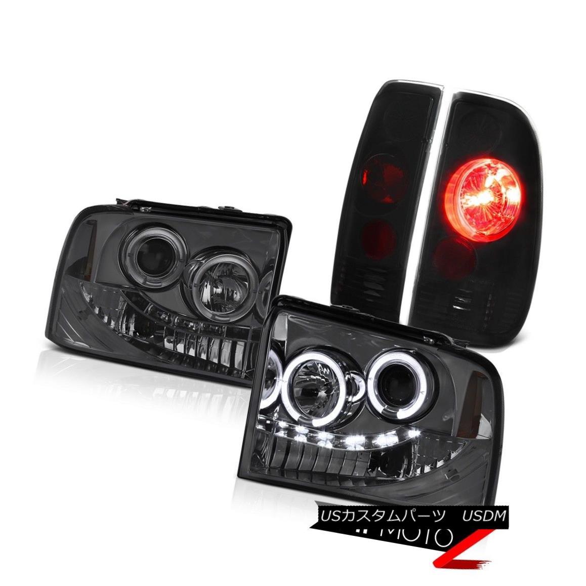 【おまけ付】 テールライト Ford F250 TurboDiesel XLT Headlamp Projector Angel Eye Sinister Black Tail Light フォードF250ターボディーゼルXLTヘッドランププロジェクターAngel Eye Sinisterブラックテールライト, アート静美洞 ee5fba2b