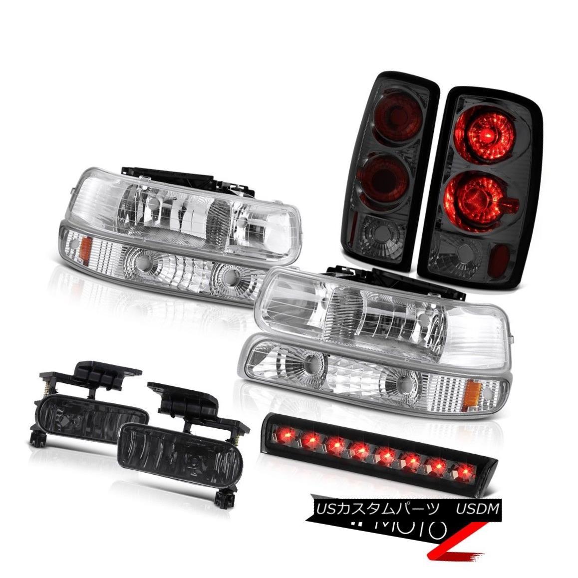 テールライト 00-06 Chevy Suburban 4X4 Phantom smoke roof brake light fog lamps rear Headlamps 00-06シボレー郊外4X4ファントム煙屋根ブレーキライトフォグランプリアヘッドランプ