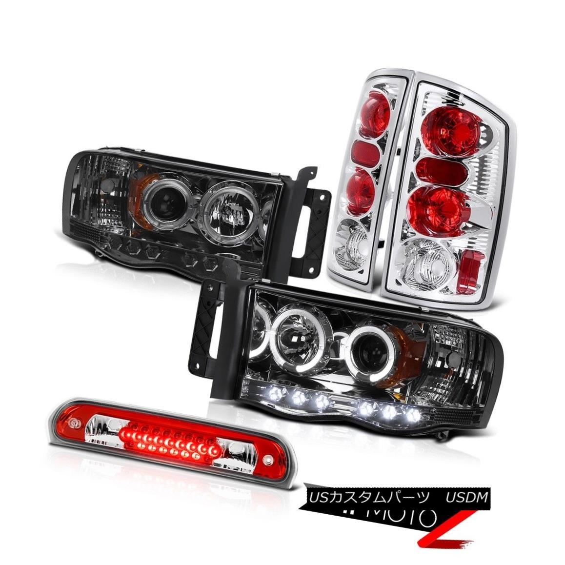 テールライト Smoke Halo Projector Headlights Euro Taillamps Roof Brake LED 02 03 04 05 Ram V8 スモークハロープロジェクターヘッドライトユーロタイルランプルーフブレーキLED 02 03 04 05 Ram V8