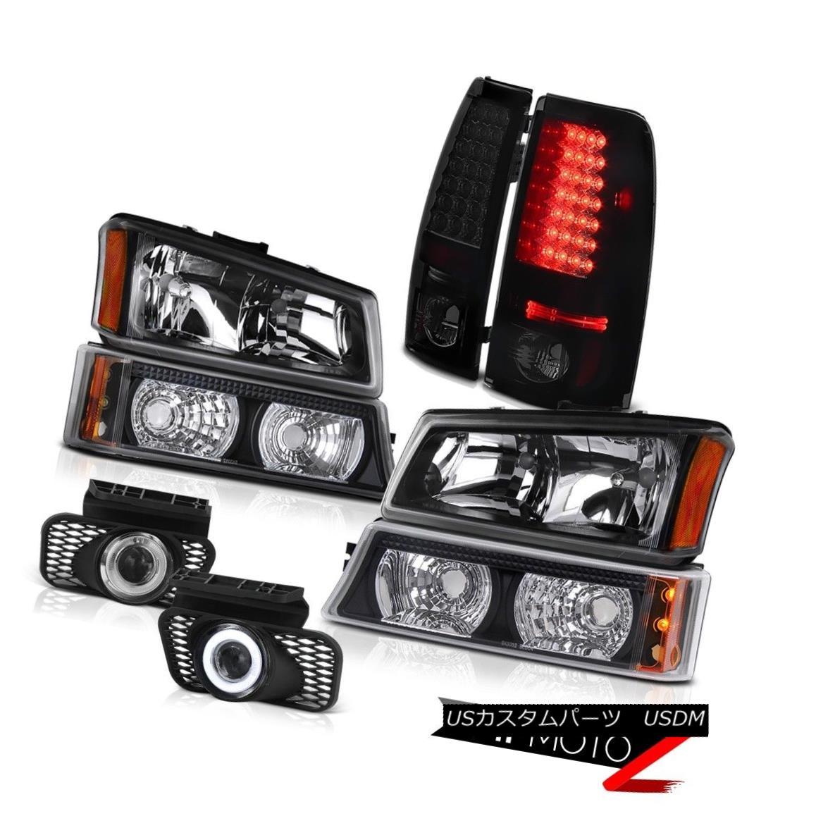 テールライト Headlights Turn Signal Parking LED Tail Lights Foglight 03 04 05 06 Silverado LT ヘッドライトターンシグナルパーキングLEDテールライトFoglight 03 04 05 06 Silverado LT
