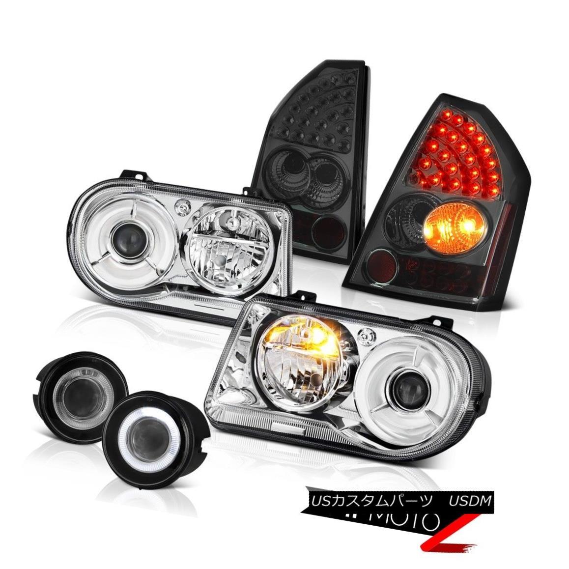 テールライト Headlight Clear Headlamps LED Tail Light Foglamps 2005-2007 Chrysler 300C 5.7L ヘッドライトクリアヘッドランプLEDテールライトFoglamps 2005-2007 Chrysler 300C 5.7L