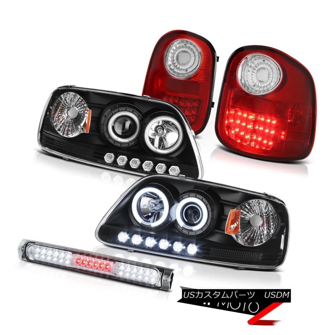 テールライト Fluorescence Headlights Brake Tail Lights LED 3rd 97-03 F150 Flareside Lightning 蛍光ヘッドライトブレーキテールライトLED 3rd 97-03 F150 Flareside Lightning