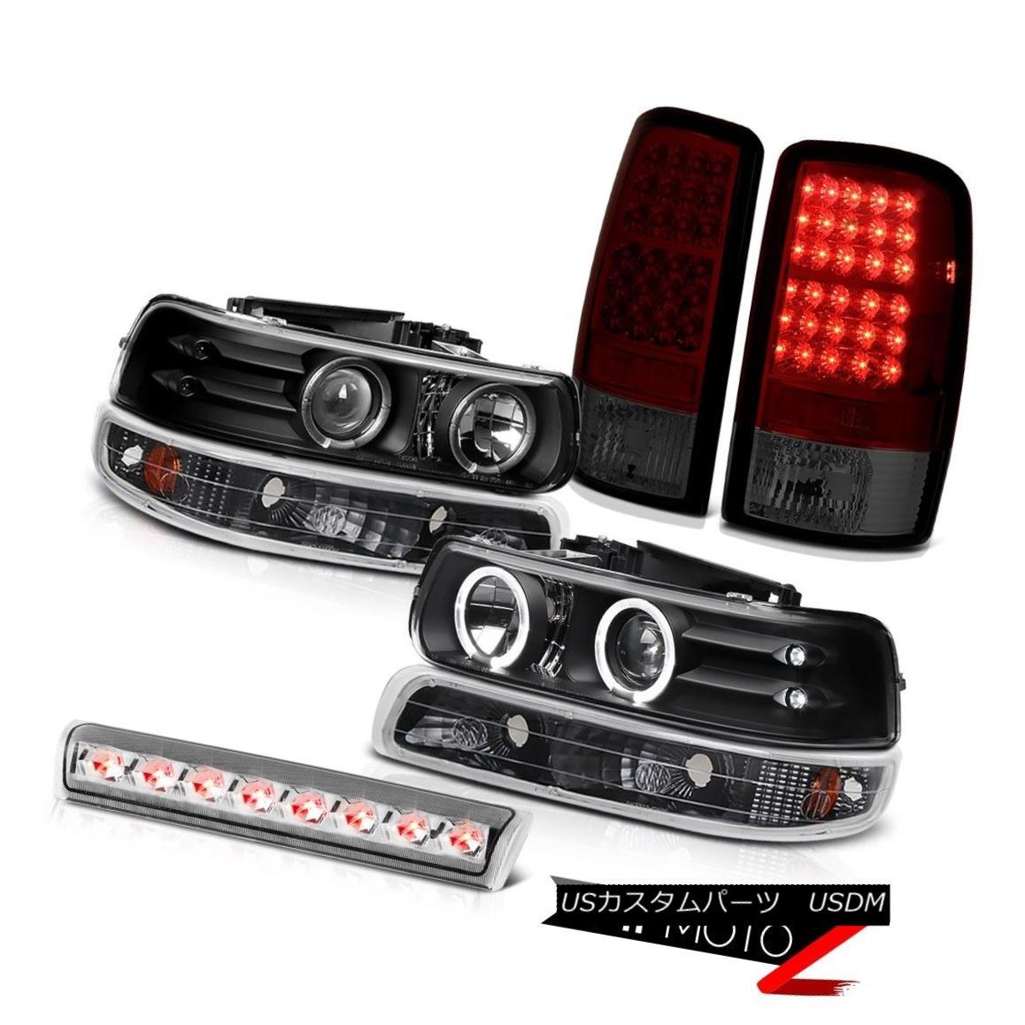 テールライト 2000-2006 Chevy Tahoe Black Headlights BRIGHTEST LED Tail Lights Brake Cargo 2000-2006シボレー・タホ・ブラック・ヘッドライトBRIGHTEST LEDテール・ライト・ブレーキ・カーゴ
